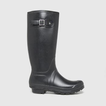 schuh Black Willow Wellington Womens Boots