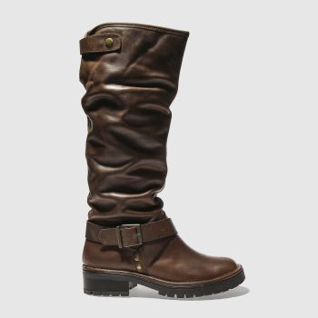 Schuh Brown Hopper Womens Boots