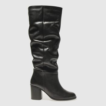 SCHUH BLACK RESOLUTION BOOTS