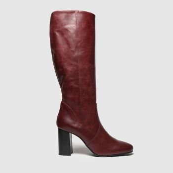 Schuh Burgundy Enchanter Womens Boots