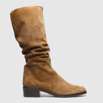 Schuh Tan Mysterious Womens Boots