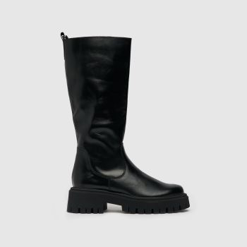 schuh Black The Edit Paxton Knee Boot Womens Boots