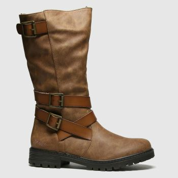 Blowfish Malibu Brown Blowfish Renae Womens Boots#