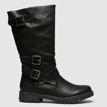 Blowfish Malibu Black Renae Womens Boots