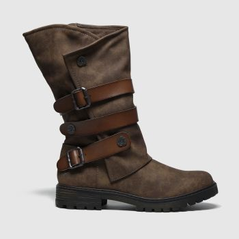Blowfish Malibu Brown Rider Vegan Boots