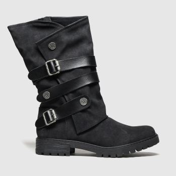 Blowfish Malibu Schwarz Rider Vegan Damen Boots