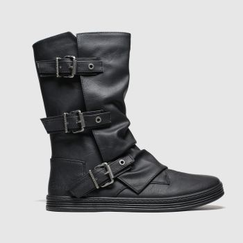 Blowfish Malibu Black Flynt Womens Boots