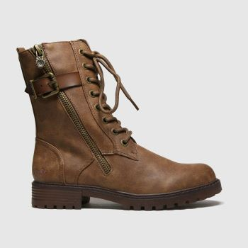 Blowfish Malibu Brown Rauly Vegan Boots