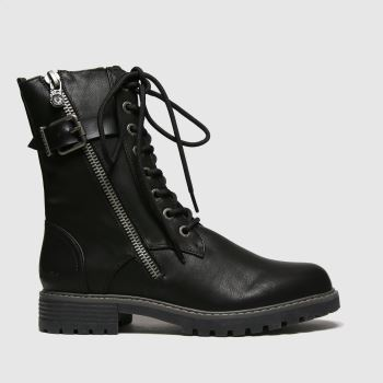 Blowfish Malibu Black Rauly Vegan Womens Boots