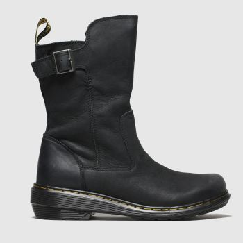 Dr Martens Black Vaux Mid c2namevalue::Womens Boots