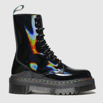 Dr Martens Black Jadon X 10 Eye Womens Boots