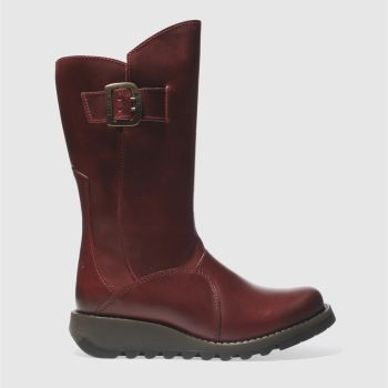 Fly London Red Mes 3 Womens Boots
