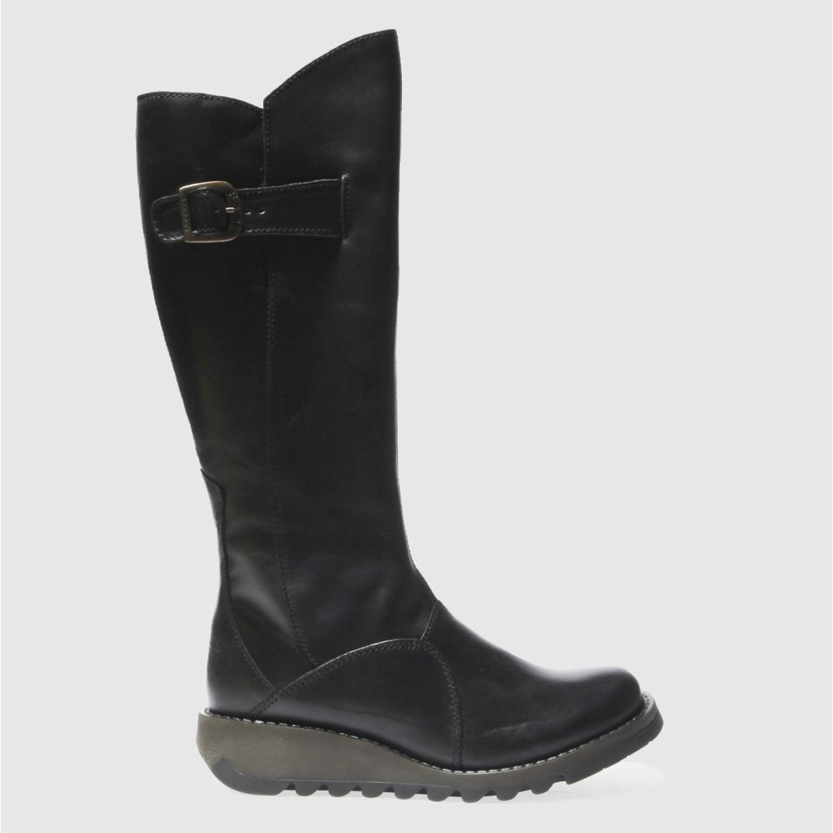 Fly London Black Mol 2 Boots