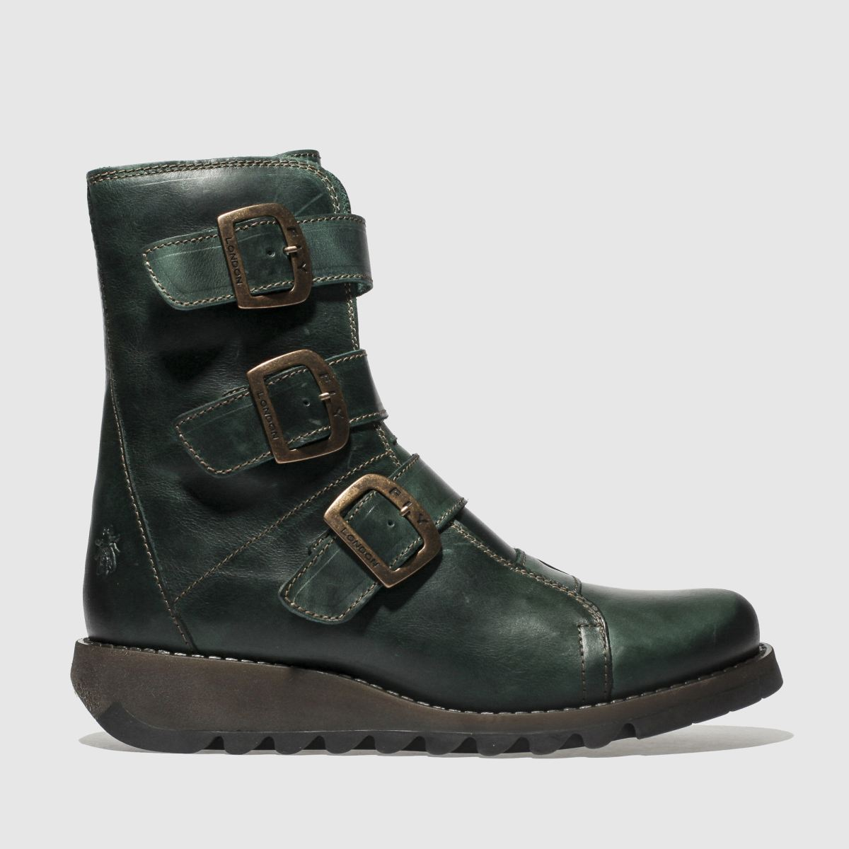 Fly London Turquoise Scop Boots
