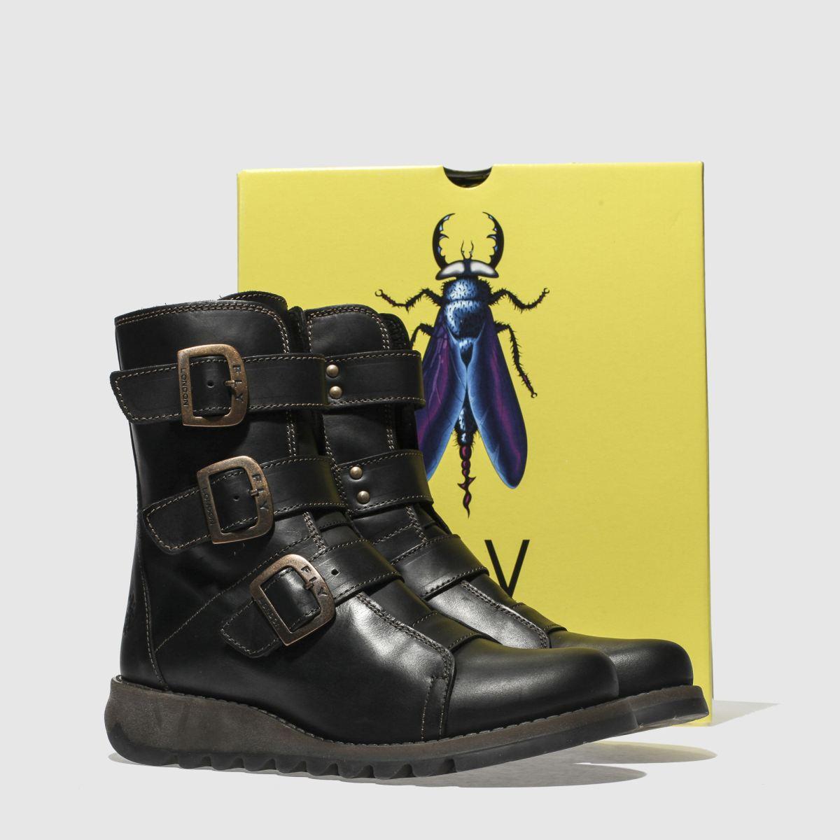 Damen Schwarz fly london Scop Boots beliebte | schuh Gute Qualität beliebte Boots Schuhe f535b1