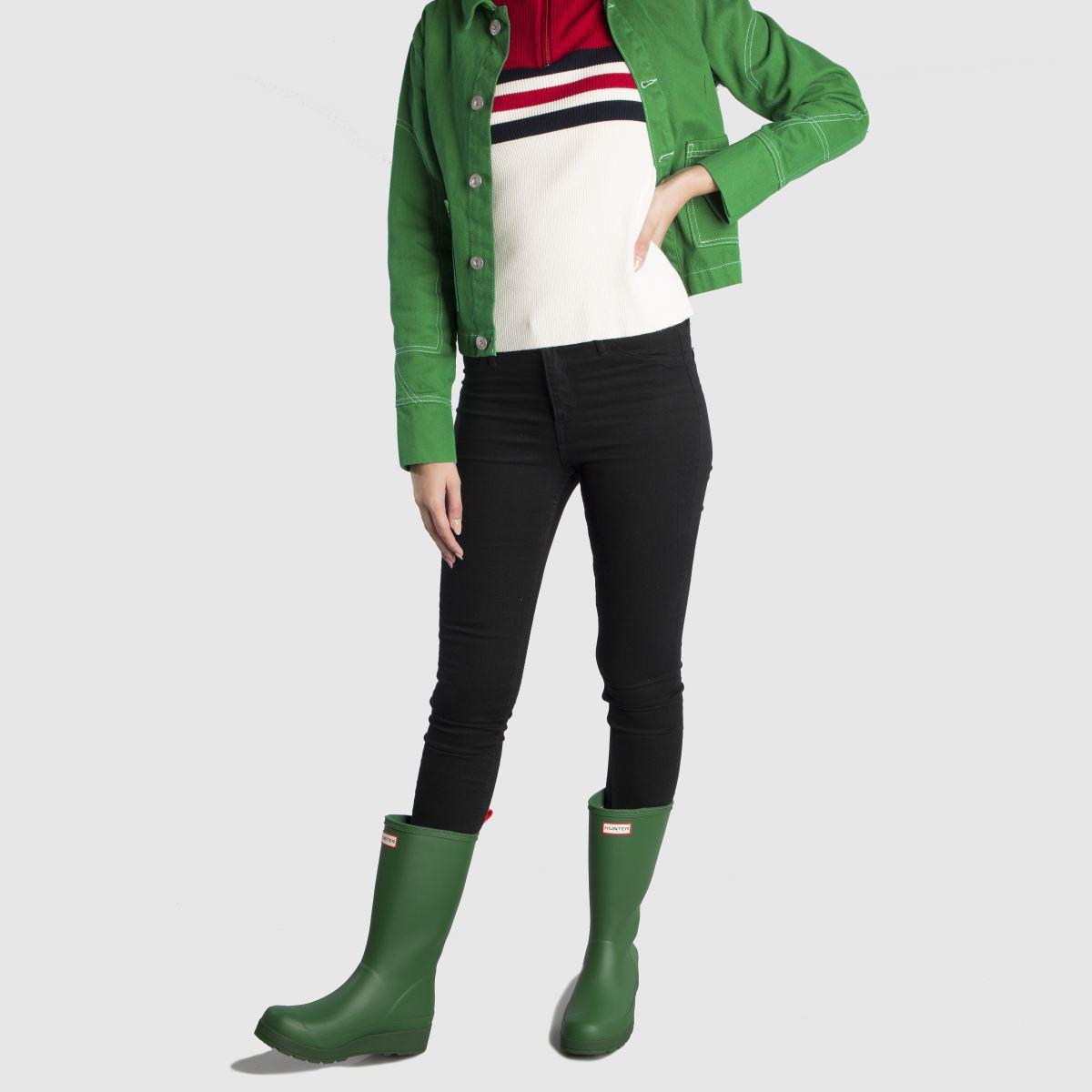 Damen Grün hunter Original Play Tall Boot Boots | schuh Gute Qualität beliebte Schuhe