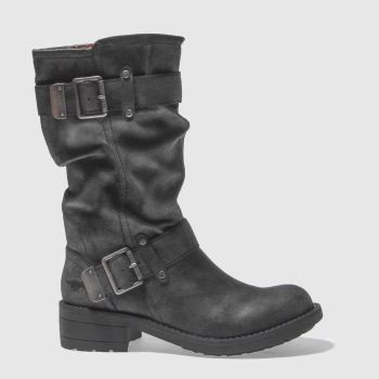 Rocket Dog Black Trumble Womens Boots