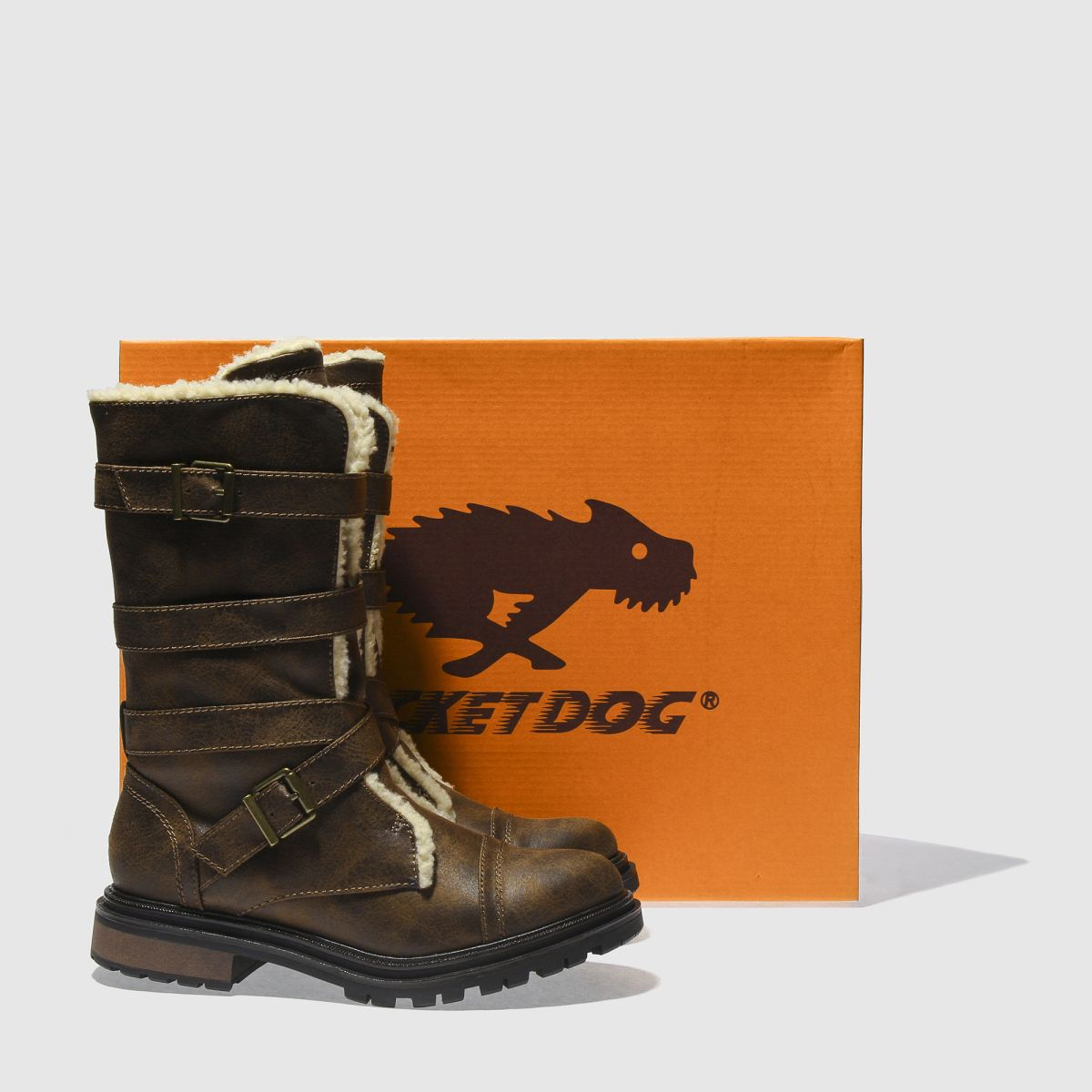 Damen Braun rocket dog Gute Lance Boots   schuh Gute dog Qualität beliebte Schuhe fc7a2f