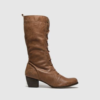 Red Or Dead Dark Brown Maths Womens Boots