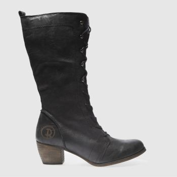 Red Or Dead Black Maths Womens Boots