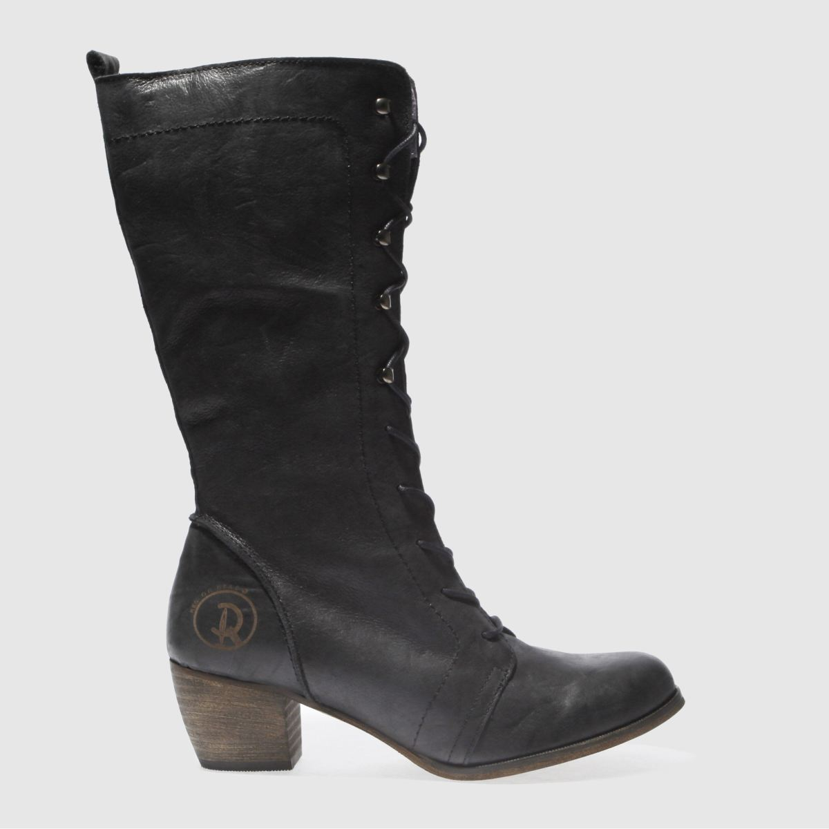 Red Or Dead Black Maths Boots