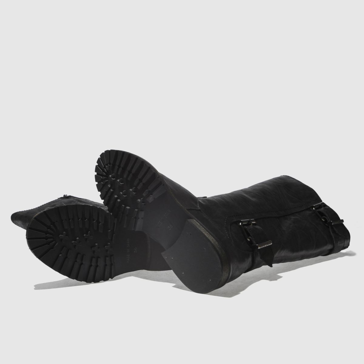 Damen Schwarz Boots red or dead Stop Boots Schwarz | schuh Gute Qualität beliebte Schuhe ba1678