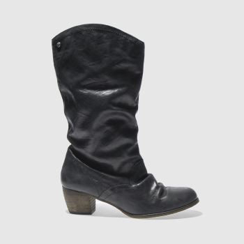 Red Or Dead Black Darlene Womens Boots