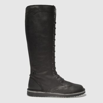 Red Or Dead Black Waynelle Womens Boots