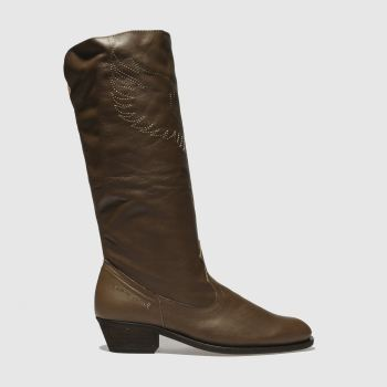 Red Or Dead Tan Kitty Hawk Womens Boots