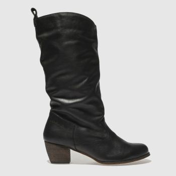 Red Or Dead Black Kansas Womens Boots from Schuh
