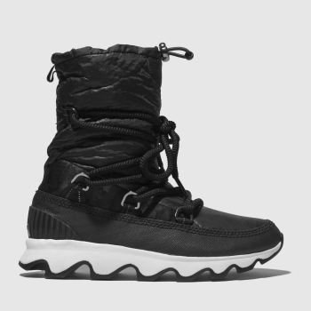 Sorel Black & White Kinetic Boot Womens Boots