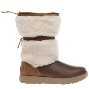 Ugg Tan Reykir Waterproof Womens Boots