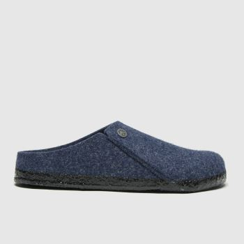 BIRKENSTOCK Blue Zermatt Womens Slippers
