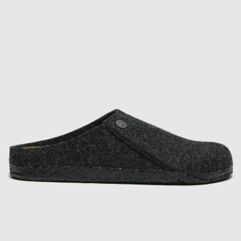 BIRKENSTOCK Dark Grey Zermatt Womens Slippers