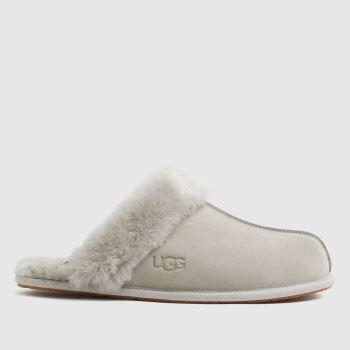 UGG Light Grey Scuffette Womens Slippers