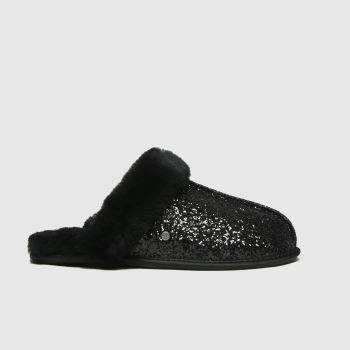 UGG Black Scuffette Ii Cosmos Womens Slippers
