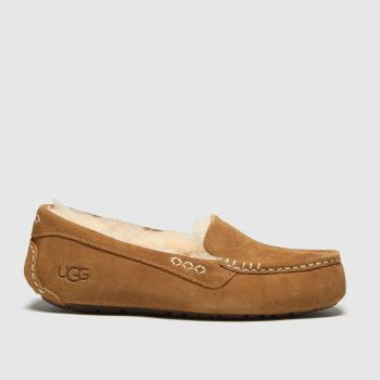 UGG Tan Ansley Womens Slippers#