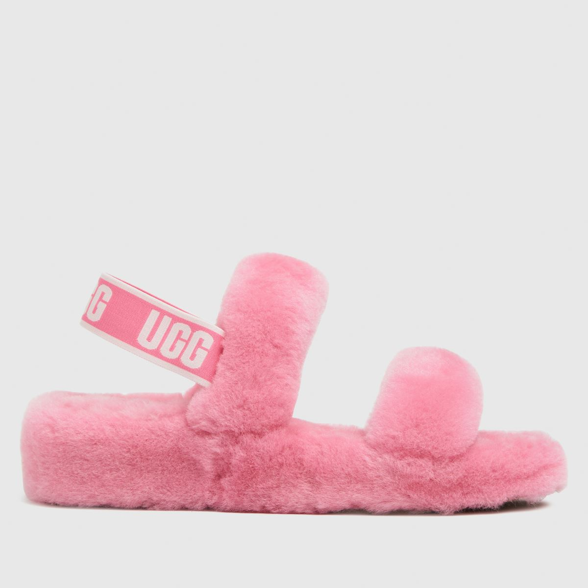 UGG Pink Oh Yeah Slippers