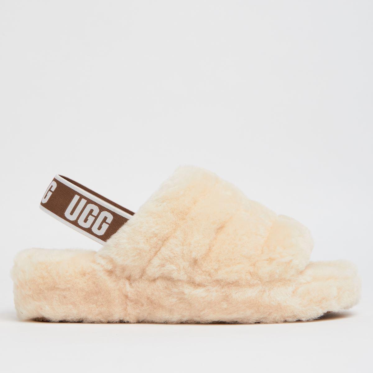 UGG Natural Fluff Yeah Slide Slippers