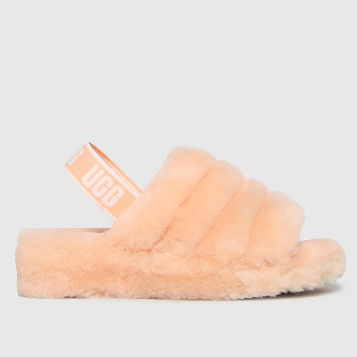 UGG Peach Fluff Yeah Slide Slippers