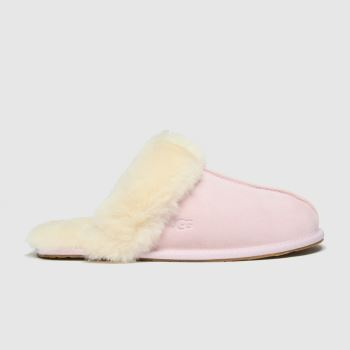 UGG Pale Pink Scuffette Ii Womens Slippers