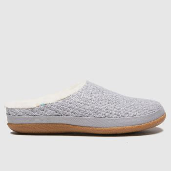 TOMS Grey Ivy Womens Slippers