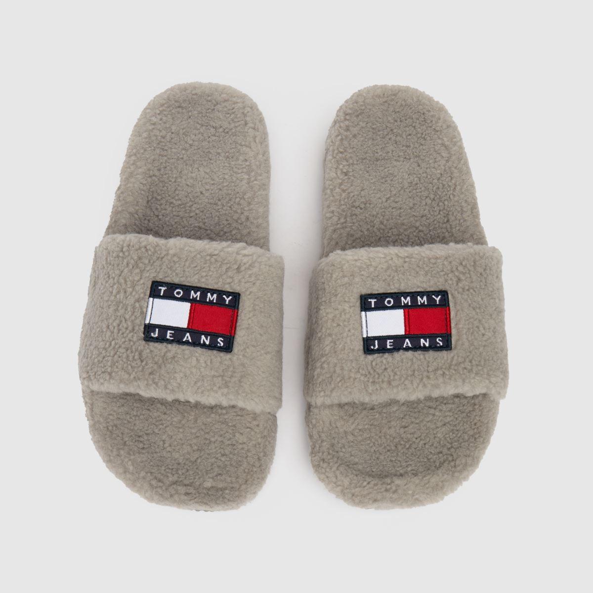 Tommy Hilfiger Grey Gizmo Slippers