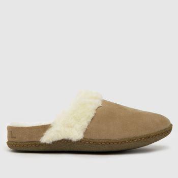 SOREL Natural Nakiska Slipper Womens Slippers