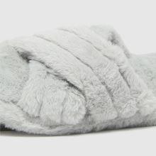 schuh Helen Faux Fur Cross Vamp,3 of 4