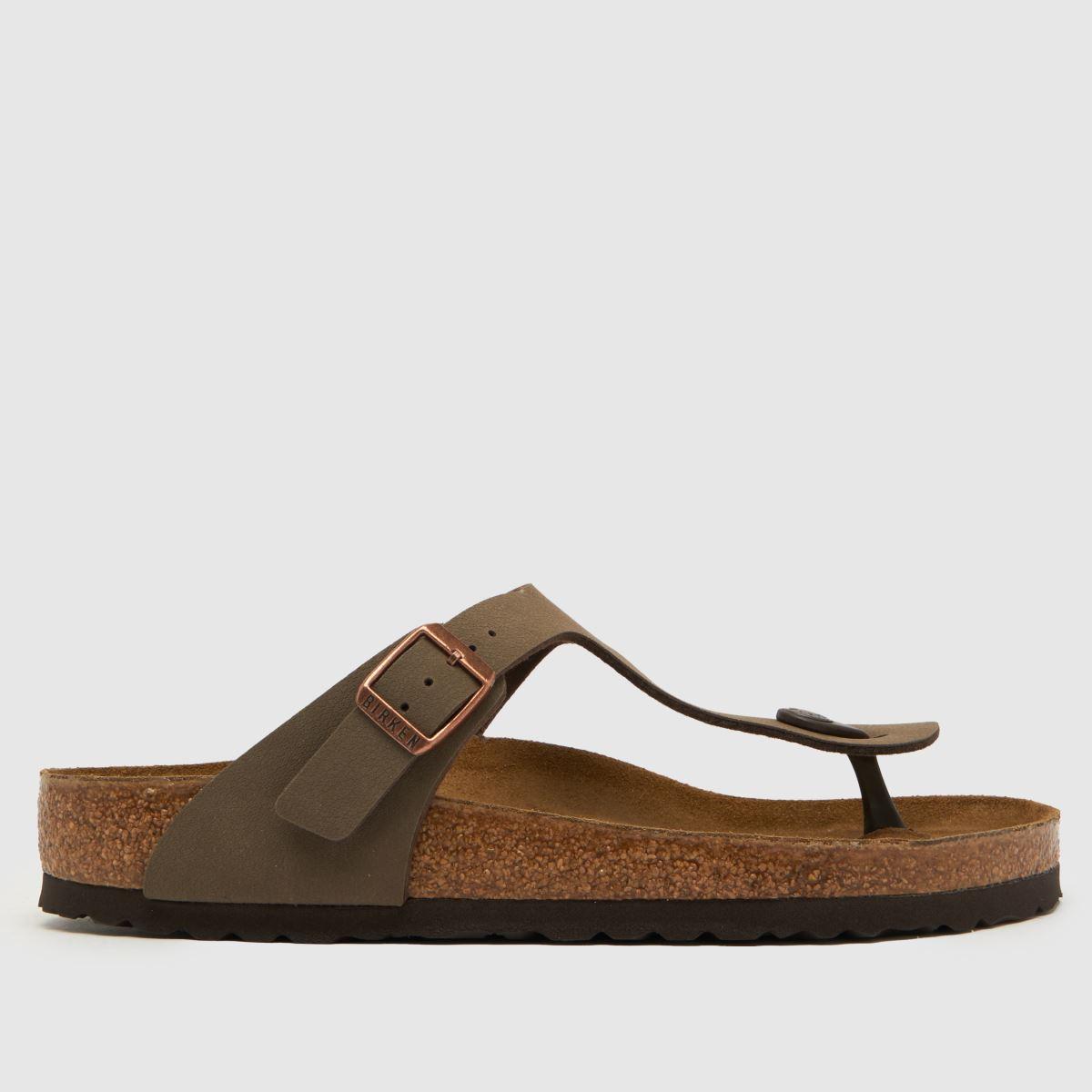 Birkenstock Brown Gizeh Sandals