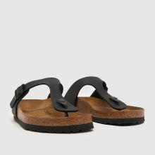 womens black birkenstock gizeh sandals  014913f367f