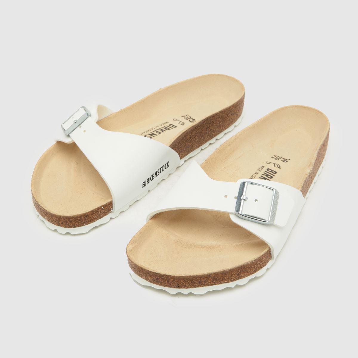 Damen Weiß birkenstock Qualität Madrid Sandalen | schuh Gute Qualität birkenstock beliebte Schuhe 741a92