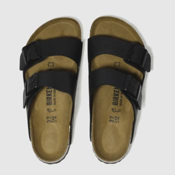Birkenstock Black Arizona Womens Sandals#