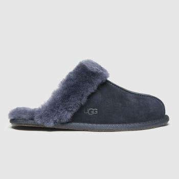 UGG Navy Scuffette Womens Slippers